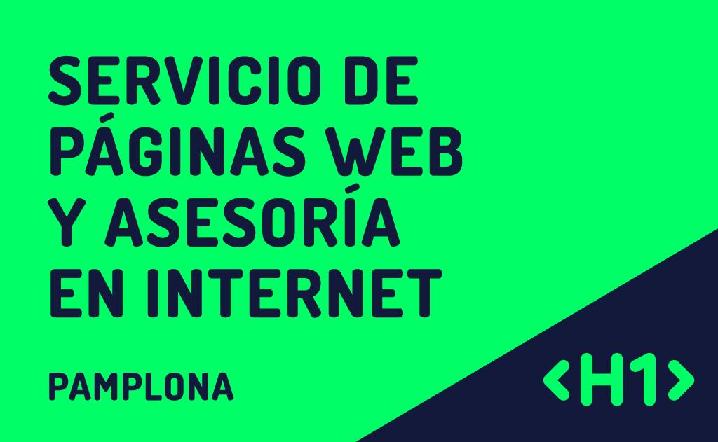 Diseño de páginas web en Pamplona / Iruña