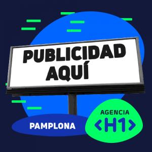 Cartel Publicitario en el que indica que ofrecemos un servicio global de publicidad